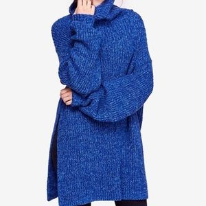 ✨NWT✨  Free People Eleven Sweater in Blue